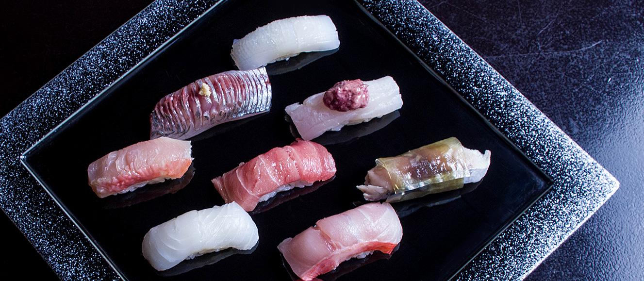 のんき寿司の美味しそうな寿司一覧